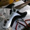モズライトギターの修理完了