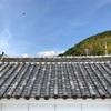 置き屋根の蔵