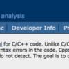 Windows7にC/C++向け静的コード解析ツールCppcheckをインストールする