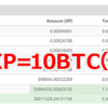 Cryptopia(クリプトピア)上場で高値売り抜けたXP勢!