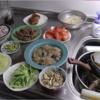 幸運な病のレシピ( 2189 )昼:冷麺&トッピング(牛、モヤシ、キュウリ、トマト、レタス、玉ねぎ、イカ、青豆)