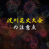 淀川花火大会を十三駅側から鑑賞して感じた注意点とオススメスポット。