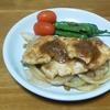 鶏むね肉のしょうが焼き,安く作れてご飯も進みます。
