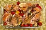 【簡単レシピ】プロが作る「鶏もも肉とローズマリーとレモンのオーブン焼」の作り方