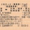 西唐津・唐津⇔天神・博多・東比恵・箱崎宮前・六本松 2枚きっぷ(2)