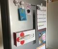 今週のライフハック!(?)ボックスティッシュを簡単に磁石で冷蔵庫に固定する。の巻。