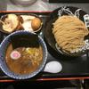 松戸富田麺絆で柏幻霜ポーク全部乗せ 濃厚つけ麺(東京)