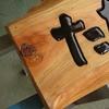 木彫看板、完成