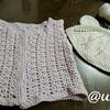 レッスンレポート)7/31出張レッスン お孫さんが生まれてますます編みたいものが増えてきました。