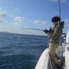 萩沖・・初釣り