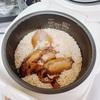 【イカ飯】簡単!イカの缶詰めを炊飯器に入れるだけ|作り方レシピ