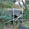 山の上に残る戦争遺跡-七糎高射砲陣地跡- 福岡県北九州市若松区大字小石