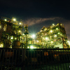 川崎の工場夜景(川崎製造所千鳥工場と日本合成樹脂)を撮ってきた【2017.07.15】