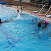 バンナー地区の水泳教室、途中経過報告です