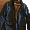 Barbour bedale の着丈直し