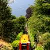 コモ湖のフニコラーレ(cable car)