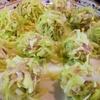逆に簡単w【1食7円】レンジdeキャベツ焼売の作り方~糖質オフ&安い&ヘルシー~