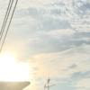 ☀️今日の夕日と夕空☀️