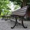 30年物のベンチを復刻
