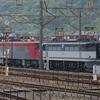5月12日撮影 東海道線 平塚~大磯間 貨物列車撮影1155ㇾ 1097ㇾ 2079ㇾと相模貨物に来ていたEH500-901