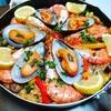 Paella aux fruits de mer パエリア試作!
