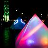 上野恩賜公園噴水広場『創エネ・あかりパーク2018』
