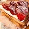 Lucy's Bakeryのストロベリータルト。ホワイトチョコレート。オレオチョコレート。