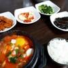 韓国1日目の夕食