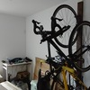 自転車部屋にバイクラックを自作して設置してみました