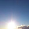 2017年1月15日(日)今朝の空