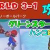 ワールド3-1 攻略  グリーンスターX3  ハンコの場所  【スーパーマリオ3Dワールド+フューリーワールド】