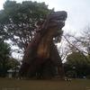 恐竜が大好きな4歳児息子と茨城県の八坂公園に行ってきました。