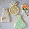 カラードレスにあわせて♡Wedding cookie Gift♡