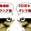 今日も釣れる!?野島堤防ハアハア祭り2日目(*´Д`)