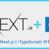 Next.js (+TypeScript) の初期構築(@2020-09-25)