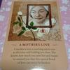 11月のカード A MOTHER'S LOVE 母の愛