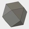 Fusion360で立方八面体をモデリングする