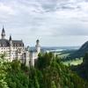 南ドイツ ルートヴィヒ2世のノイシュヴァンシュタイン城♪