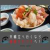 【天橋立】観光に行くなら宮津の【海鮮かわさき】での海鮮丼がお勧め!