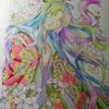 桜の姫進捗状況:今は無い方の「コットマン水彩紙」