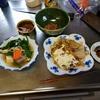 幸運な病のレシピ( 2549 )朝:カスベの煮付け、オム焼きそば