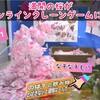 🌸桜が満開!?オンラインクレーンゲームでも桜が満開だ!花見もオンクレ!?なぞなぞあり🌸