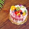 2歳のお子さまへオーダーケーキ*