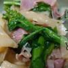 菜の花とベーコンのはっと の作り方(レシピ)宮城の郷土料理はっとをパスタ風に