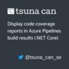 Azure Pipelines のビルド結果画面にコードカバレッジの結果を表示する(.NET Core)