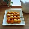 焦がし醤油の香ばし串団子