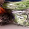 本日の野菜庫。業務スーパーでも野菜が高い今日この頃。
