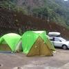 和歌山県 古座市、一枚岩キャンプ場 2泊3日