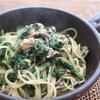 薬膳レシピ セロリの葉とサバ缶のパスタ