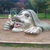 公園遊具が疎らになってきてる気がする。